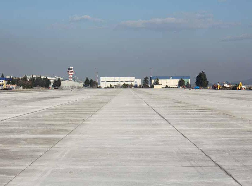 Adnan Menderes Airport Apron Construction