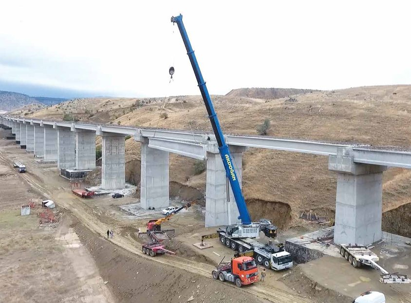 Ankara-Izmir High-Speed Train Project Infrastructure Works