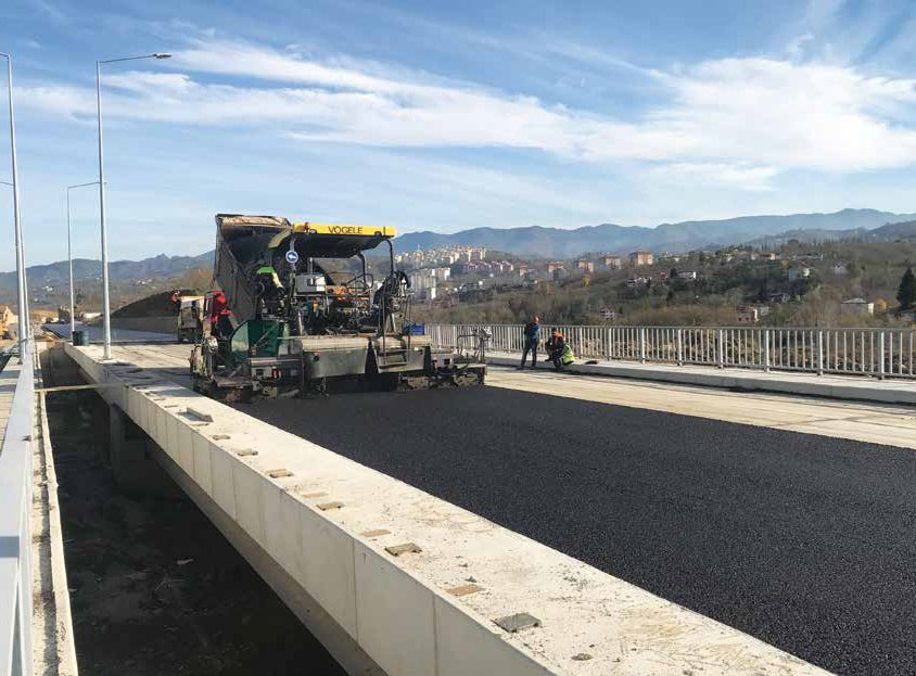 Ordu Ring Road Km: 21+000-42 + 414,784 Section Extension Construction Works