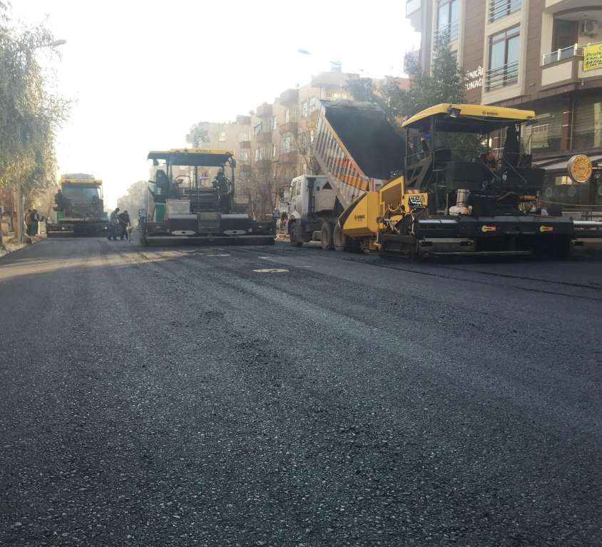HBM Road Construction Works in the District Centers and Rural Areas within Municipal boundaries