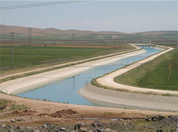 Bayburt Dam Irrigation Canal (Kars)