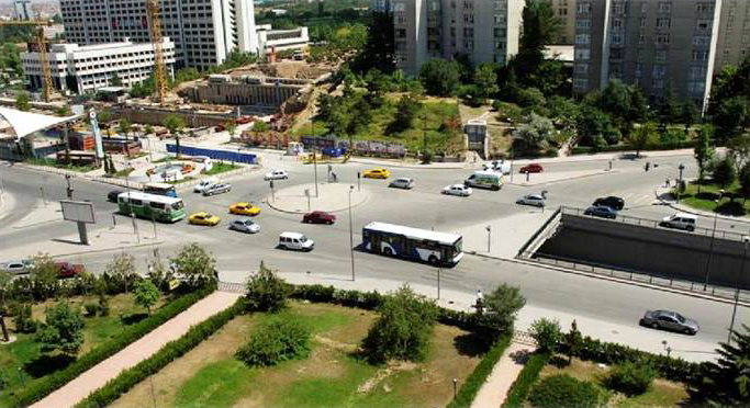 İnonu Boulevard Underpass Construction Foundation Piles and Piling Works (Ankara)