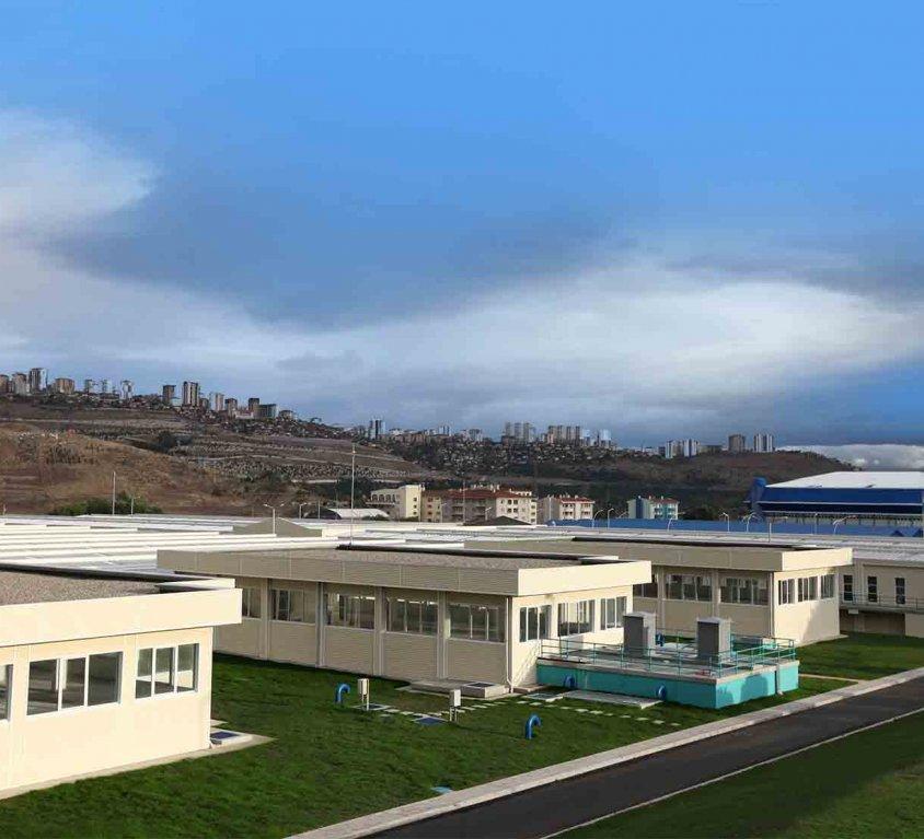 Ivedik Potable Water Treatment Plant (Ankara)