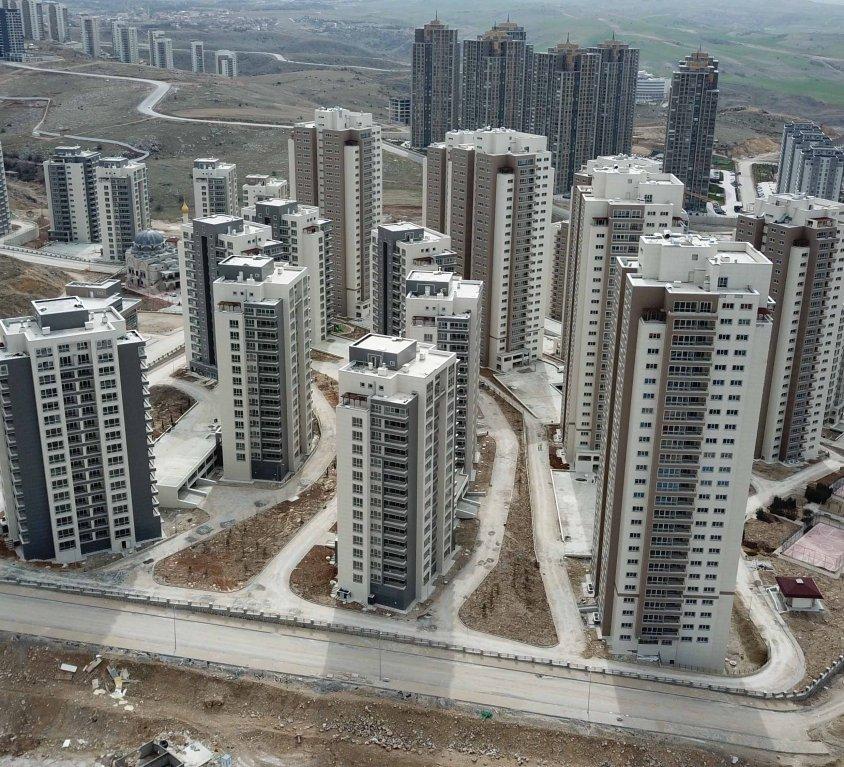 Ankara Gölbaşı TOKI Incek Residences