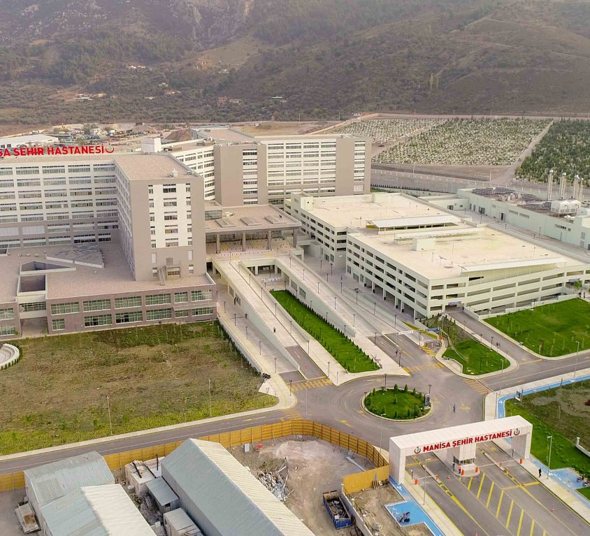 Manisa City Hospital – 558 beds