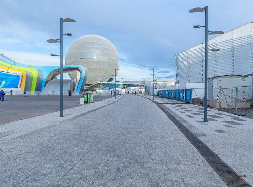 Astana Expo 2017 Altyapı İnşaatı İşleri, (Kazakistan)