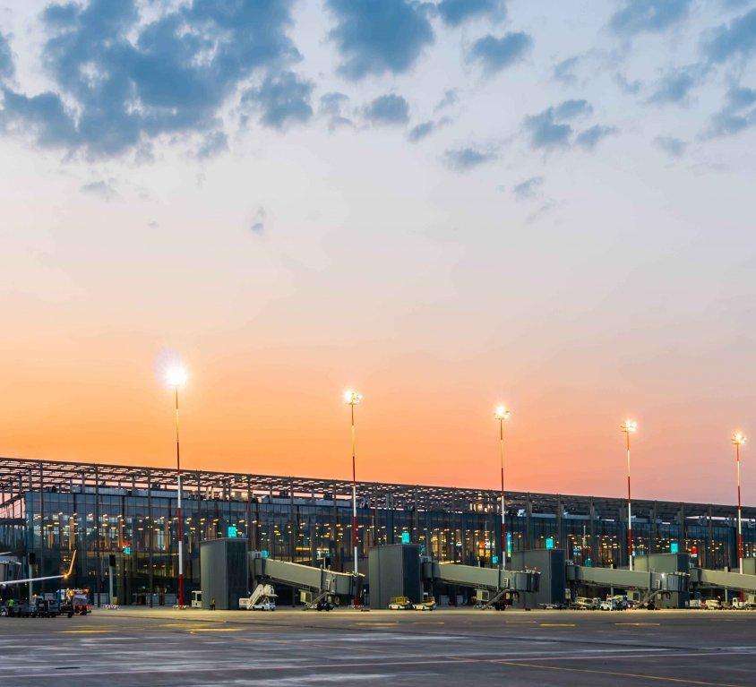 Dalaman Havalimanı Yeni İç & Dış Hatlar Terminal (T2)