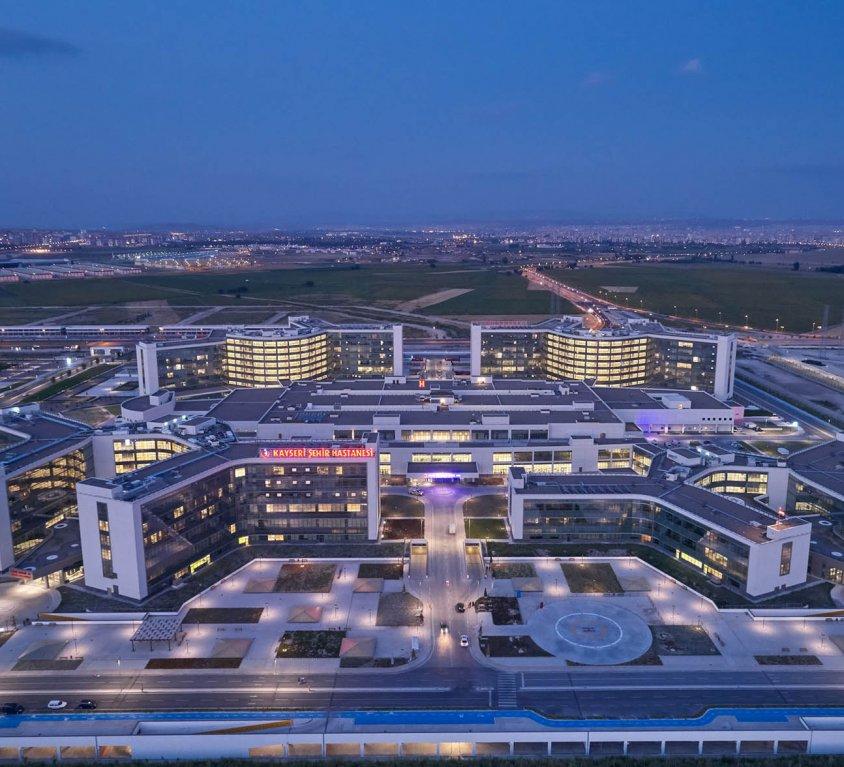 Kayseri Şehir Hastanesi – 1.607 Yatak